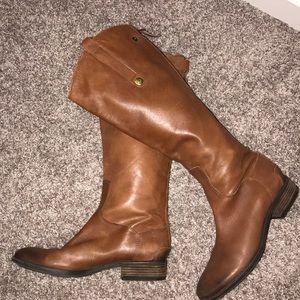 Sam Edelman, chestnut brown riding boots